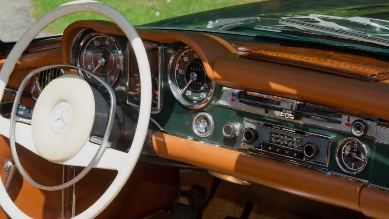 1968 Mercedes Benz 250 Sl Pagoda Hd Photo Video With