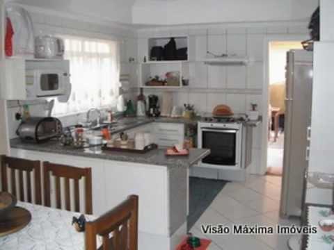 Ref. 4122 - Salas de TV com lareira e de jantar, copa e cozinha ...
