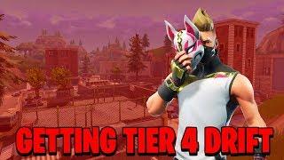 Grinding to get Tier 4 Drift! | Fortnite Battle Royale