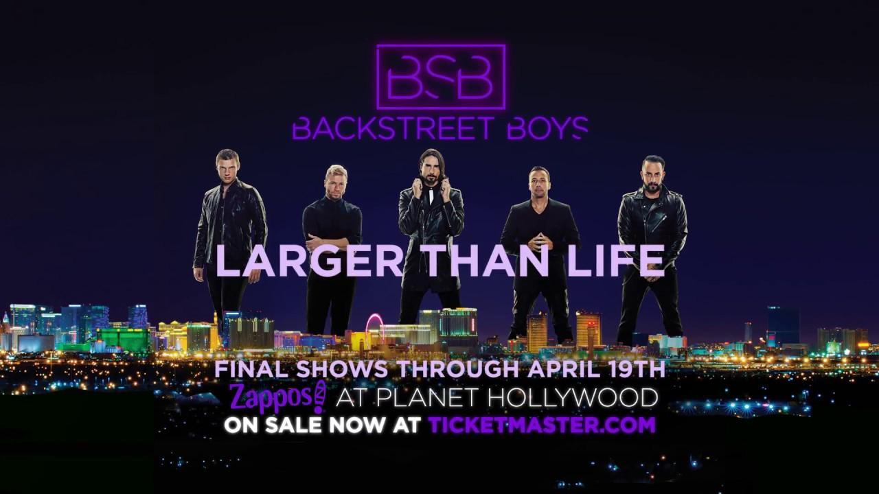 51b39c025 Backstreet Boys - Zappos Theater - Planet Hollywood Resort & Casino