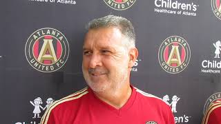 Free Kick: Atlanta United Tata Martino presser 9.13.18 #sportsinquirer #atlutd