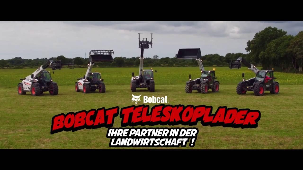 Telescopic Loaders in Agriculture DE | Bobcat Equipment