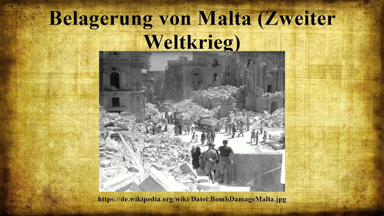 Malta 2. Weltkrieg