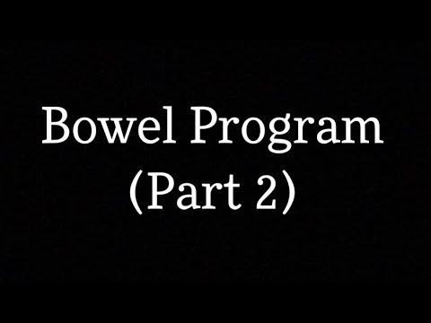 Living With Spina Bifida: Bowel Program   Part 2