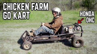 We Bought a $20 Go Kart from a Chicken Farm... Will it Run + Ride?