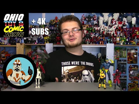 The 2017 OHIO TOY AND COMIC SHOW + 4K SUBS