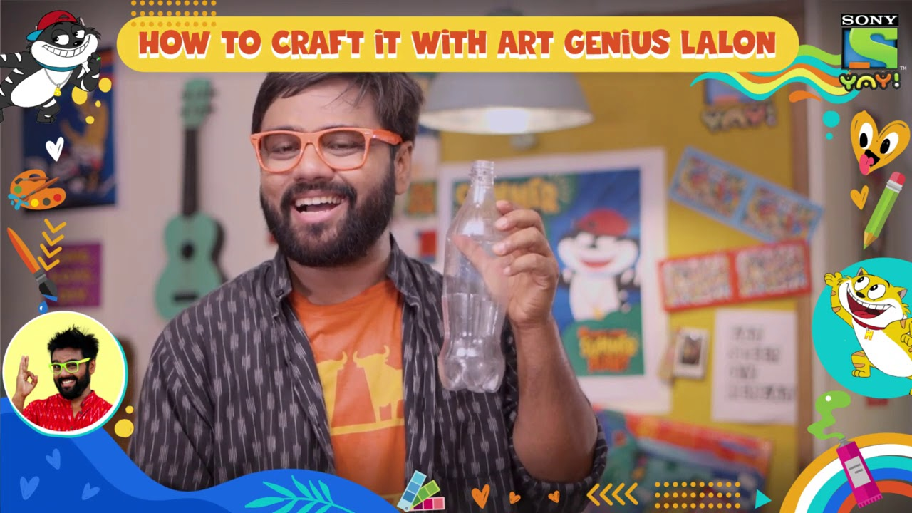 How to make a Bird Water Feeder - Episode 7 | How to craft it with Lalon | DIY videos for kids