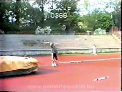 Jan Zelezny's training with Miklos Nemeth in 1992