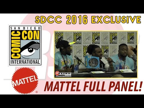 Mattel WWE Entire Panel! - SDCC 2016 - San Diego Comic Con!