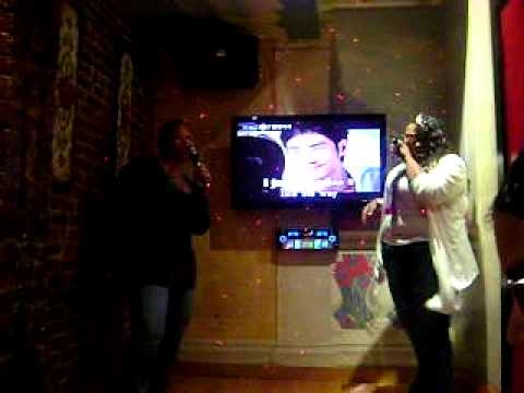 another round of karaoke