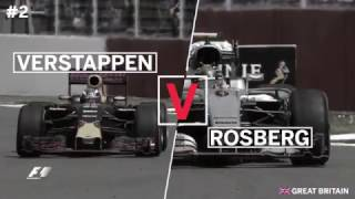 F1: Top 10 Overtakes of 2016
