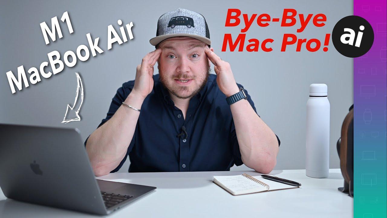Will an M1 MacBook Air fill the gap when a Mac Pro breaks?
