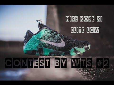 7e02eb42 ВИДЕО ОБЗОР КРОССОВОК - NIKE KOBE XI ELITE LOW - Contest by WTS #2 ...