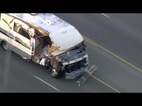Stolen RV Pursuit in San Fernando Valley