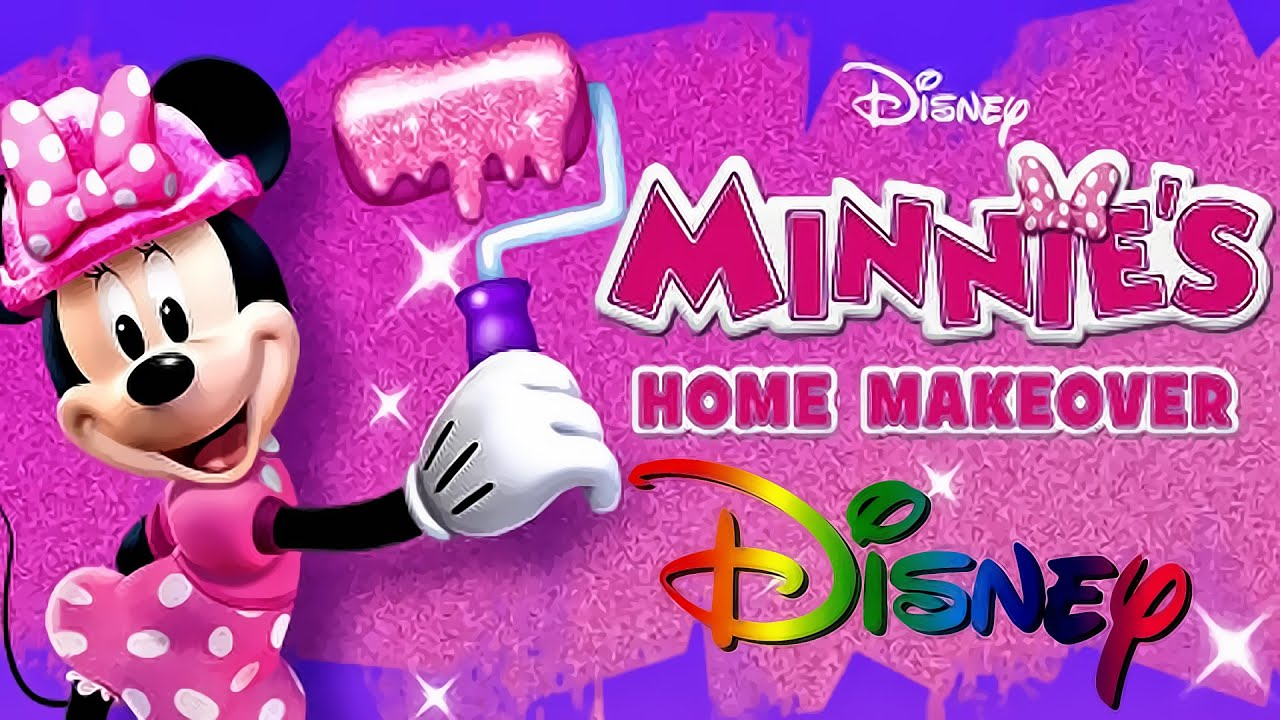 Minnie\'s Home Makeover | MINNIE Mouse - iOS Game App for Kids - YouTube