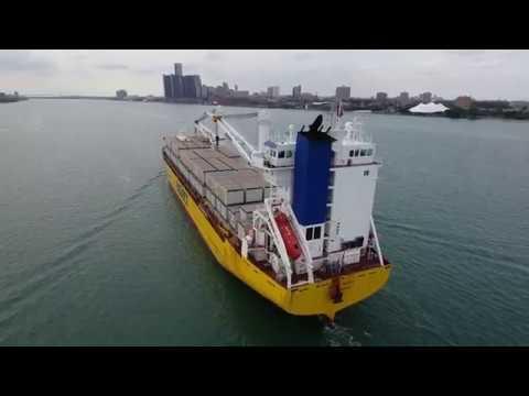 BigLift Shipping - Happy River - Detroit, Michigan - 8.20.18