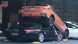 Valet Gets Creative Parking Porsche 911 Cabrio  - Car Reviews Channel