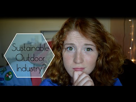 Sustainability in the Outdoor Gear Industry