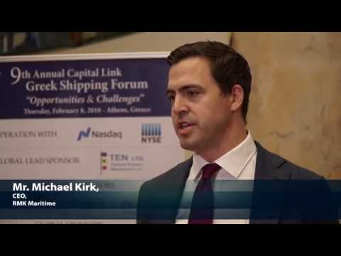 2018 9th Annual Greek Shipping Forum - Michael Kirk Interview