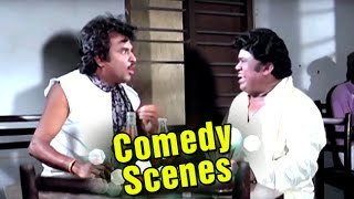 Drunked Rajnikanth | Comedy Scene | Phool Bane Angaray | Hindi Film