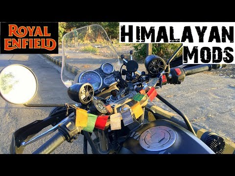 Music System on any Motorcycle |  Bike Modifications | Touring Edition | Royal Enfield Himalayan