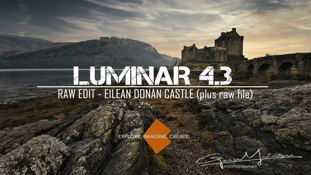 RAW edit in LUMINAR 4.3