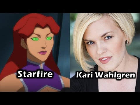 Characters and Voice Actors - Justice League Vs. Teen Titans