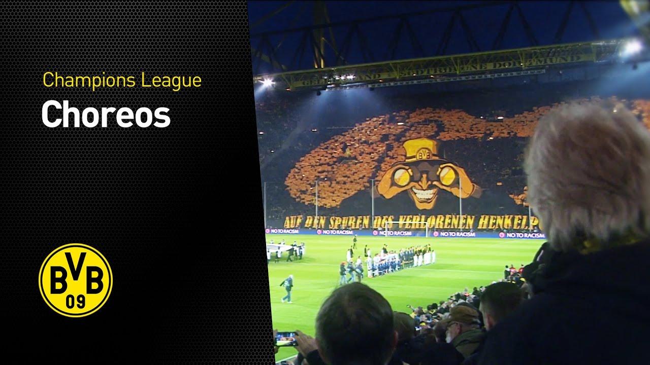 Die Choreos der UEFA Champions League | BVB - AS Monaco