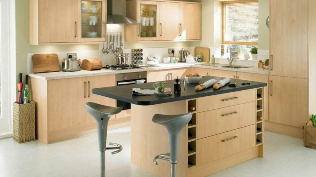 Diseños De Cocinas Pequeñas Modernas Con Isla