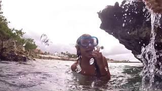 Gyrocopter Girl Aruba Snorkel with S & Ibby & E