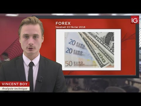 Bourse - EUR/USD, l'inflation en zone Euro pourrait impacter le cross - IG 23.02.2018