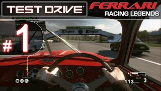 Test Drive: Ferrari Racing Legends [PS3][HD] - Part #1: A Good Foundation - HARD