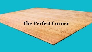 Tutorial: The Perfect Corner for Bookbinding and More