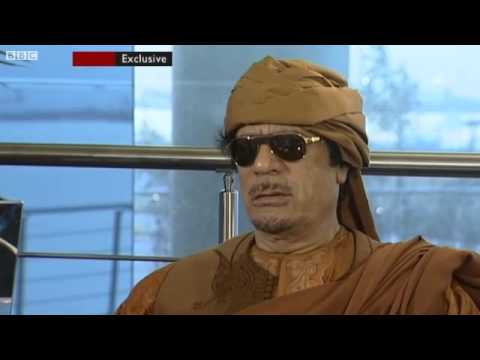 FUNNY Gaddafi - What's the question? (original) HQ