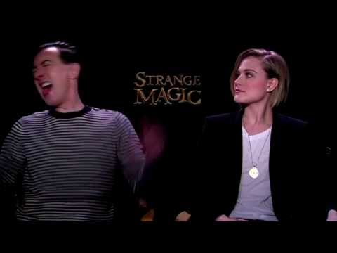 STRANGE MAGIC - Alan Cumming, Evan Rachel Wood Interview (NYC 1.16.15)