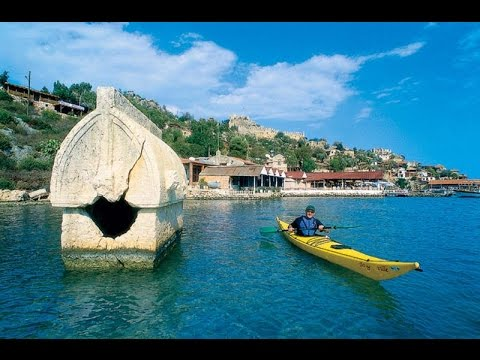 ABANDONED - Sunken City Kekova Turkey (Atlantis ?) Glass Bottom Boat Trip