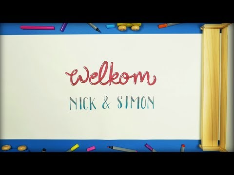 Nick & Simon - Welkom (Lyric Video)