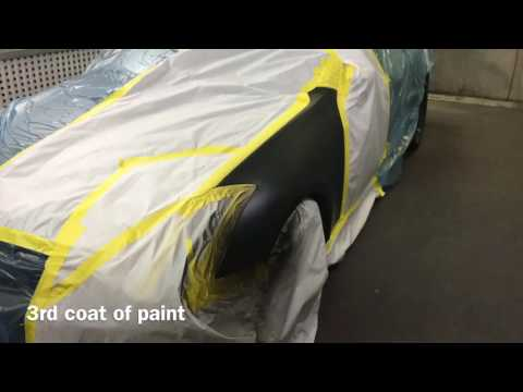 Automotive Car Painting/Spraying 2002 Infiniti G35!!!