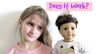 Fixing an American Girl Doll