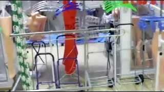видео Купить вешалку напольную для одежды