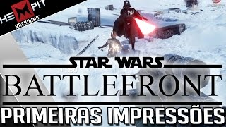 Primeiras Impressões - Star Wars Battlefront BETA PC no Ultra 60fps!