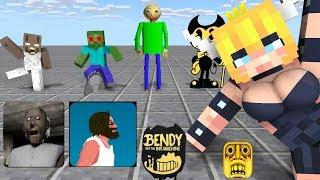 Monster School : SEASON 1 ALL EPISODE - Minecraft Animation