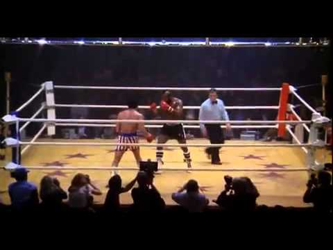 Rocky 3  Rocky Balboa Vs Clubber Lang    You Aint Nothing     Final Fight Scene from Rocky III