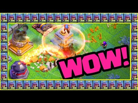 Can You WIN With ALL ARCHERS?! Surprising Clash of Clans Strategy for Builder Halls!