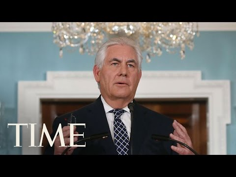 Rex Tillerson Chairs UN Security Council Meeting On North Ko