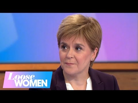 Scotland's First Minister Nicola Sturgeon Talks Brexit, Family and De-Stressing | Loose Women