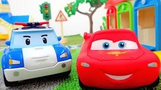 Молния Маккуин изучает  Правила дорожного движения