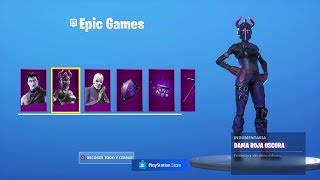 PURCHASING THE NEW PACK of 'DARK REFLECTES' in FORTNITE! (Skins, Sacs à dos et Pic) -RoEssYT
