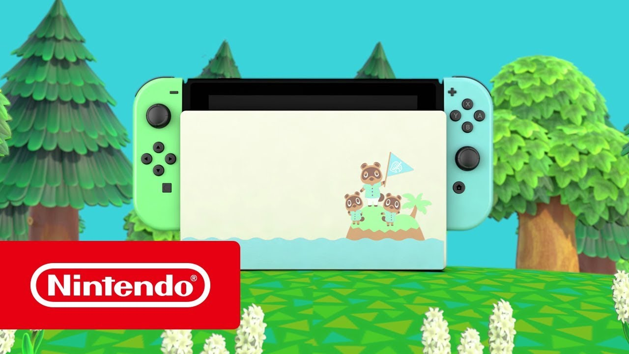 Nintendo Switch Animal Crossing New Horizons Edition Youtube