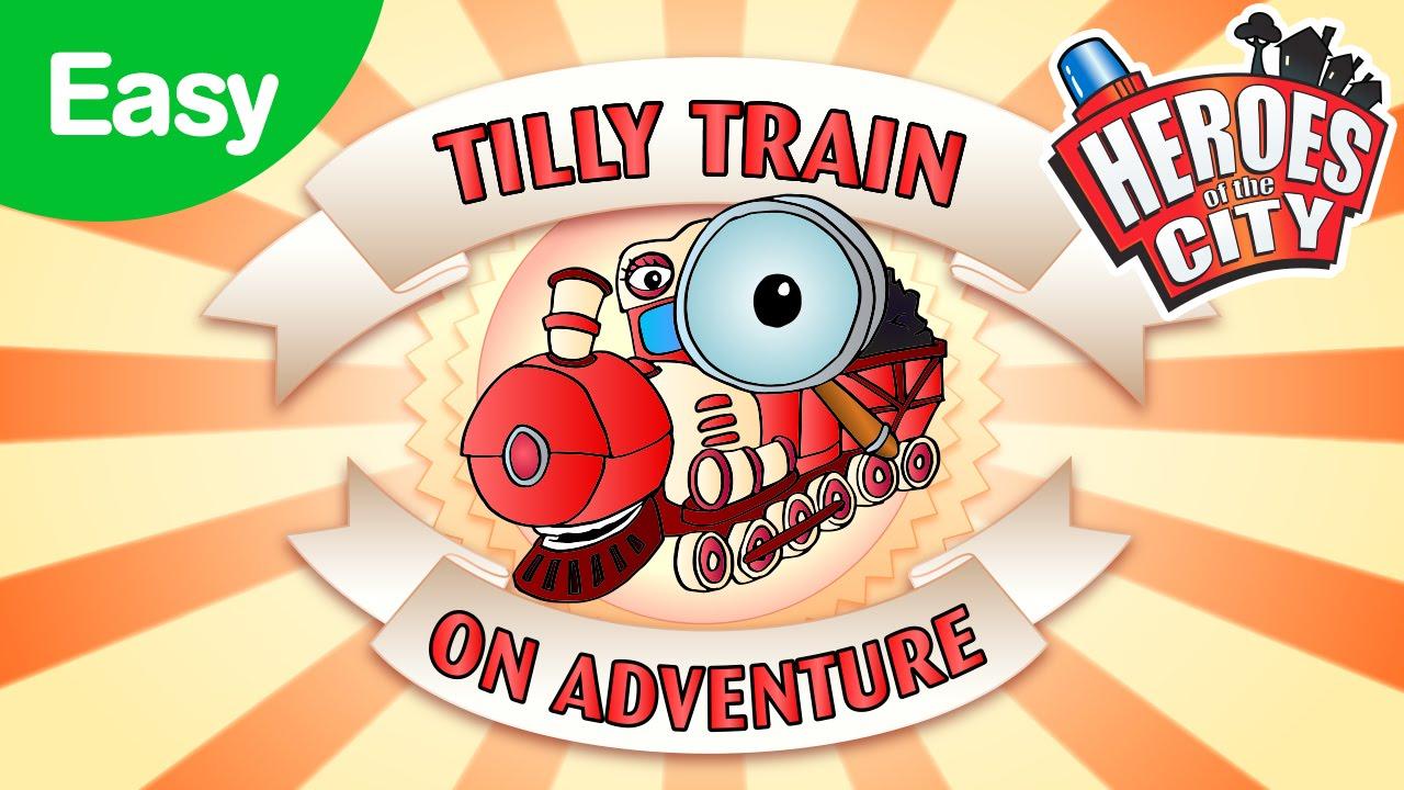 On Adventure with Tilly Train - Easy | Car Cartoons | Car Cartoons